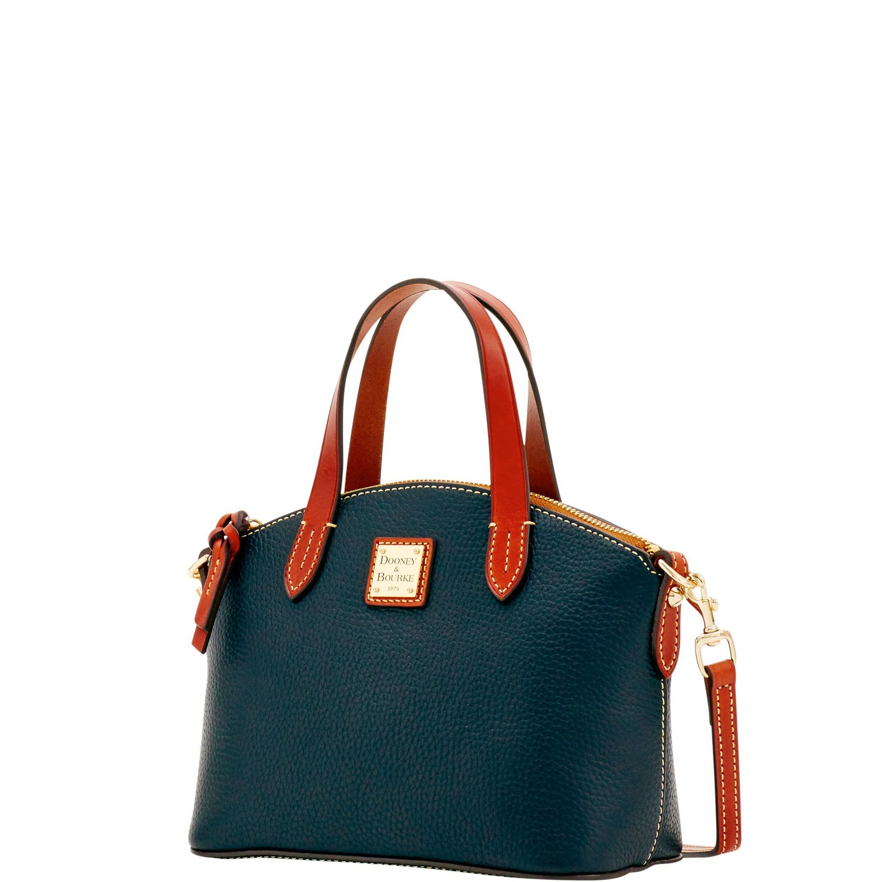 Dooney-amp-Bourke-Pebble-Grain-Ruby-Top-Handle-Bag thumbnail 9