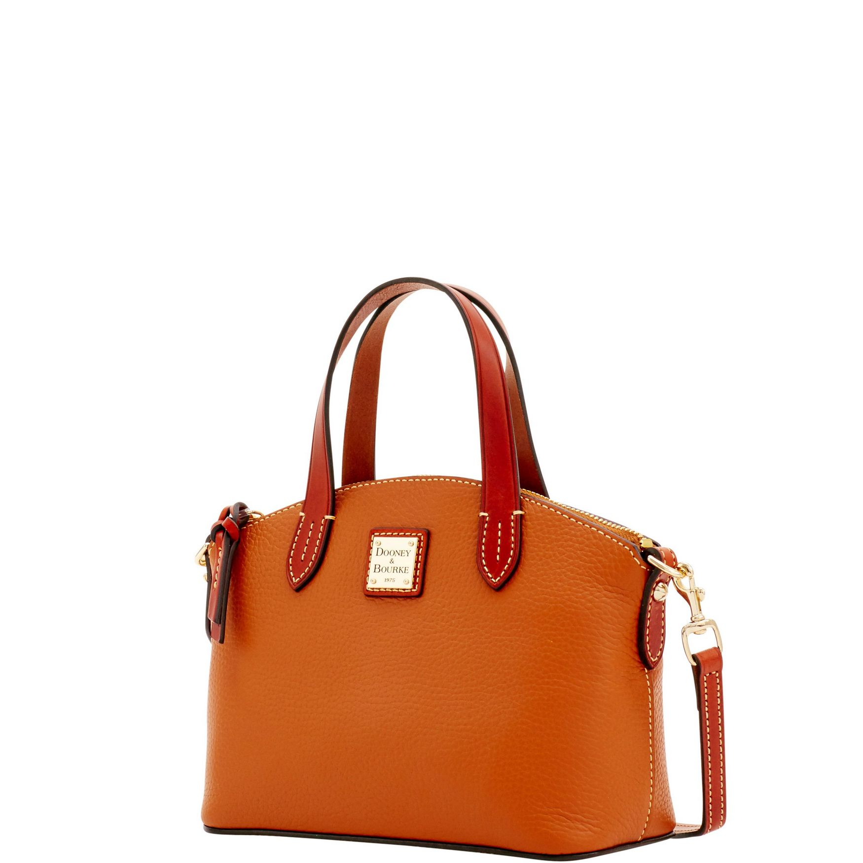 Dooney-amp-Bourke-Pebble-Grain-Ruby-Top-Handle-Bag thumbnail 19