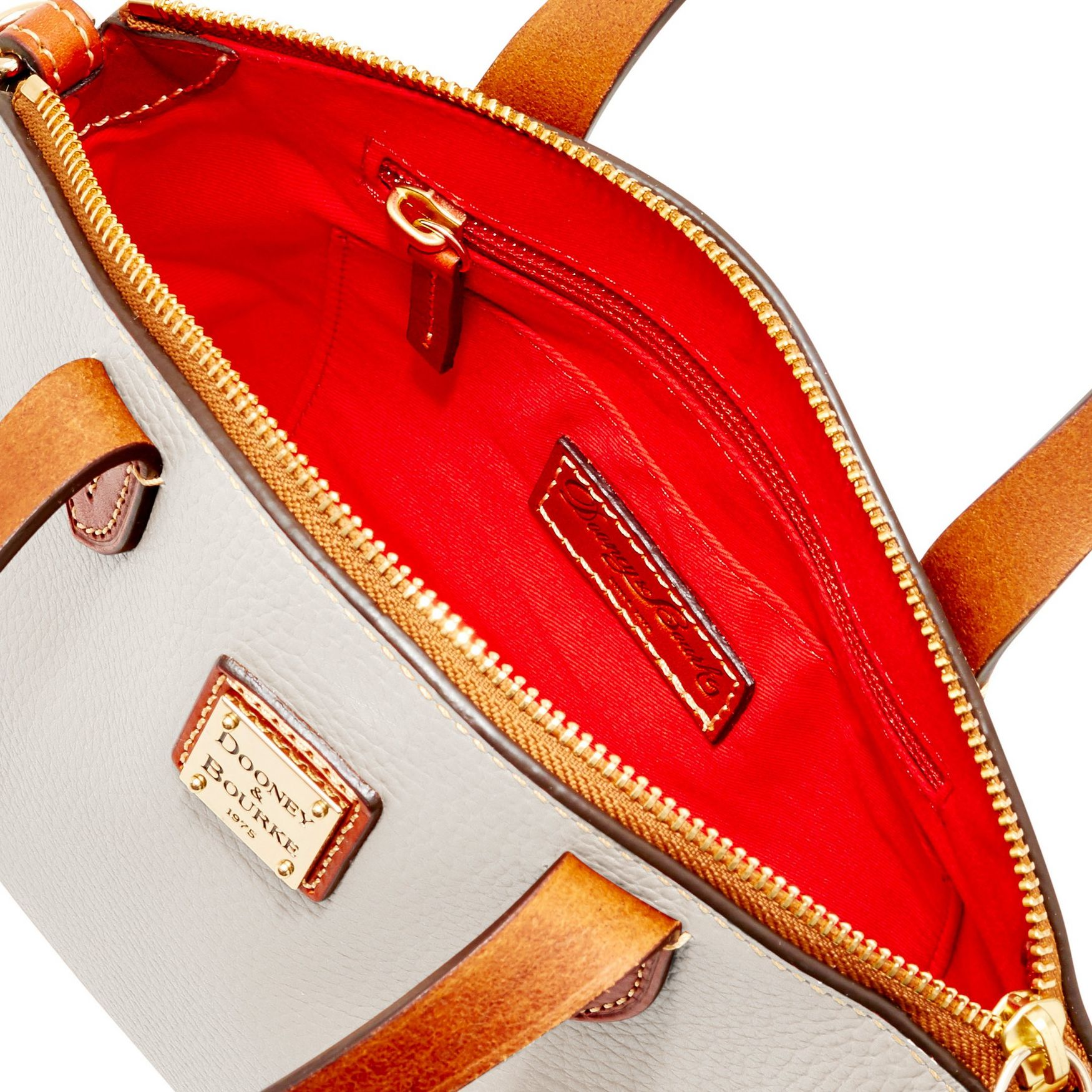 Dooney-amp-Bourke-Pebble-Grain-Ruby-Top-Handle-Bag thumbnail 29