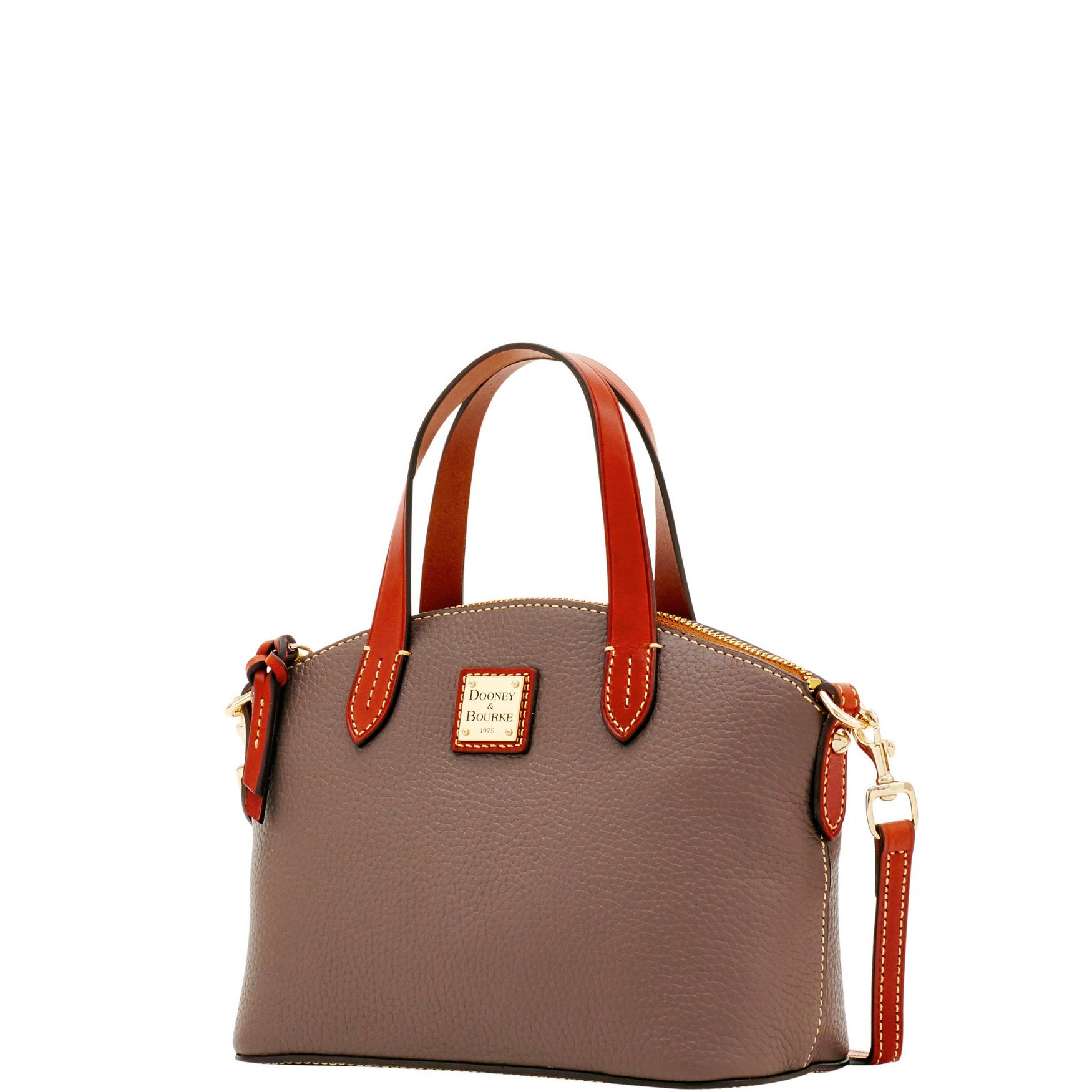 Dooney-amp-Bourke-Pebble-Grain-Ruby-Top-Handle-Bag thumbnail 33