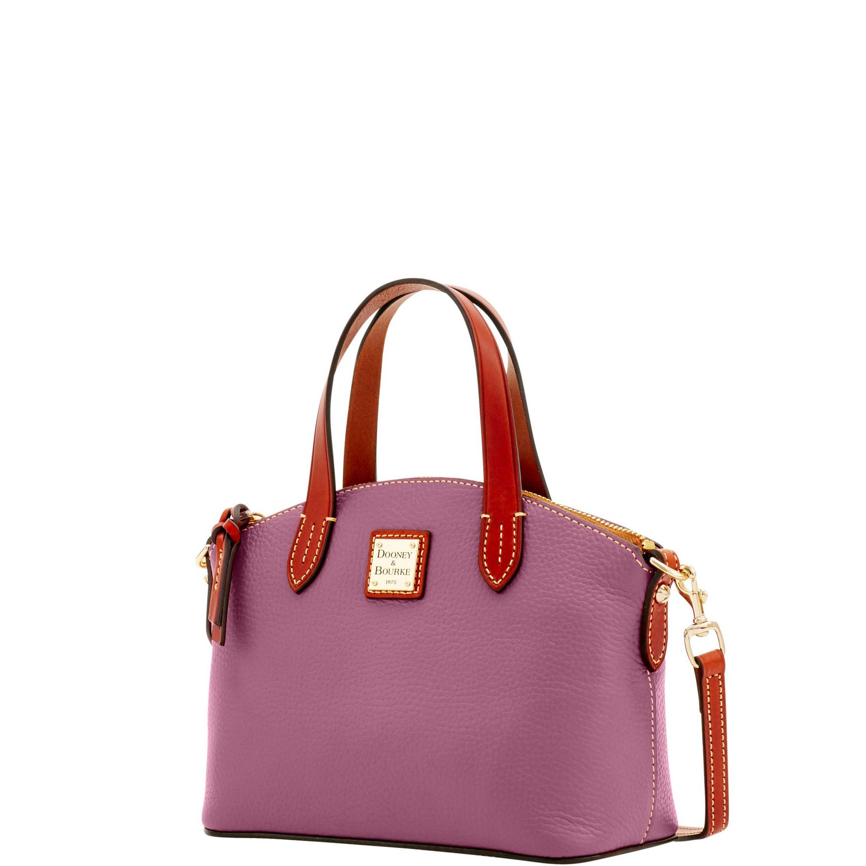 Dooney-amp-Bourke-Pebble-Grain-Ruby-Top-Handle-Bag thumbnail 23