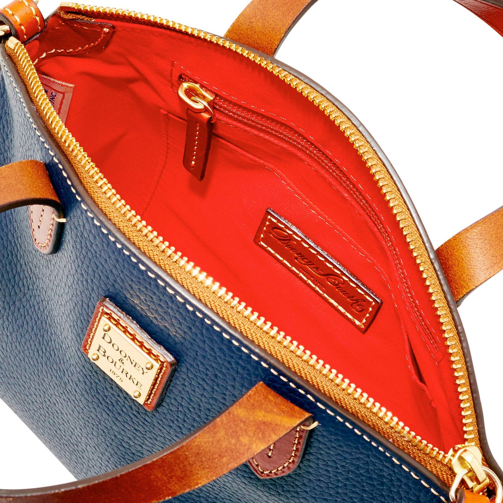 Dooney-amp-Bourke-Pebble-Grain-Ruby-Top-Handle-Bag thumbnail 49