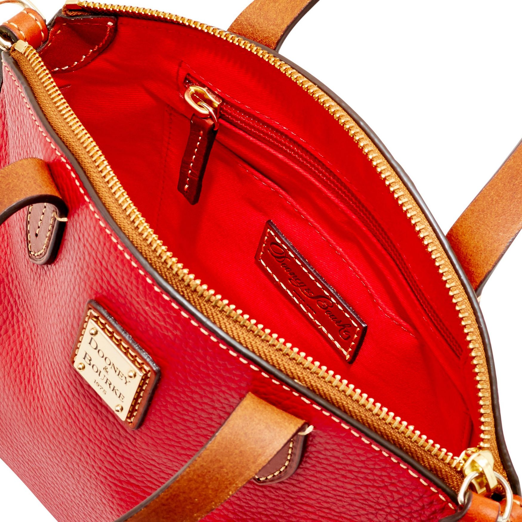 Dooney-amp-Bourke-Pebble-Grain-Ruby-Top-Handle-Bag thumbnail 59