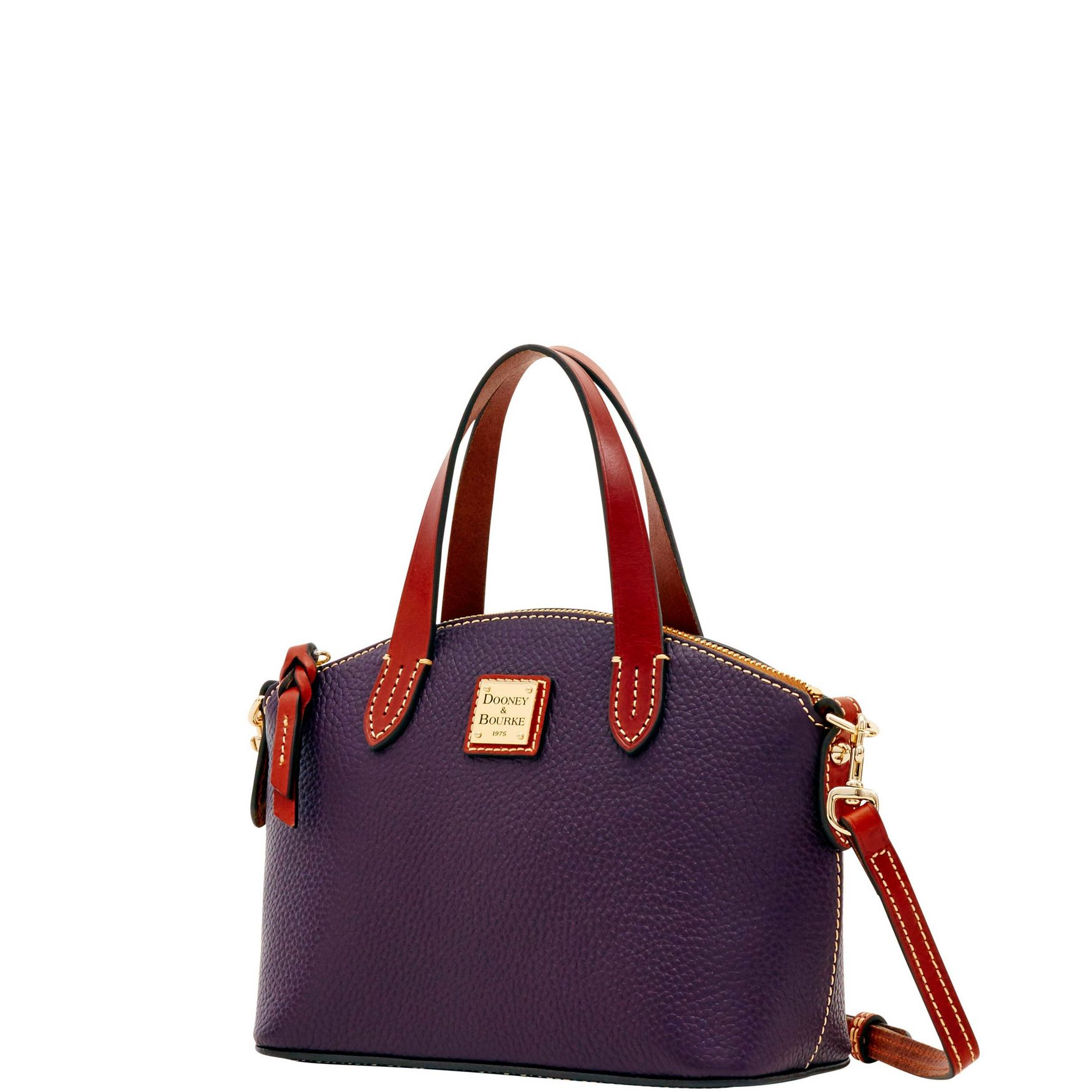 Dooney-amp-Bourke-Pebble-Grain-Ruby-Top-Handle-Bag thumbnail 53