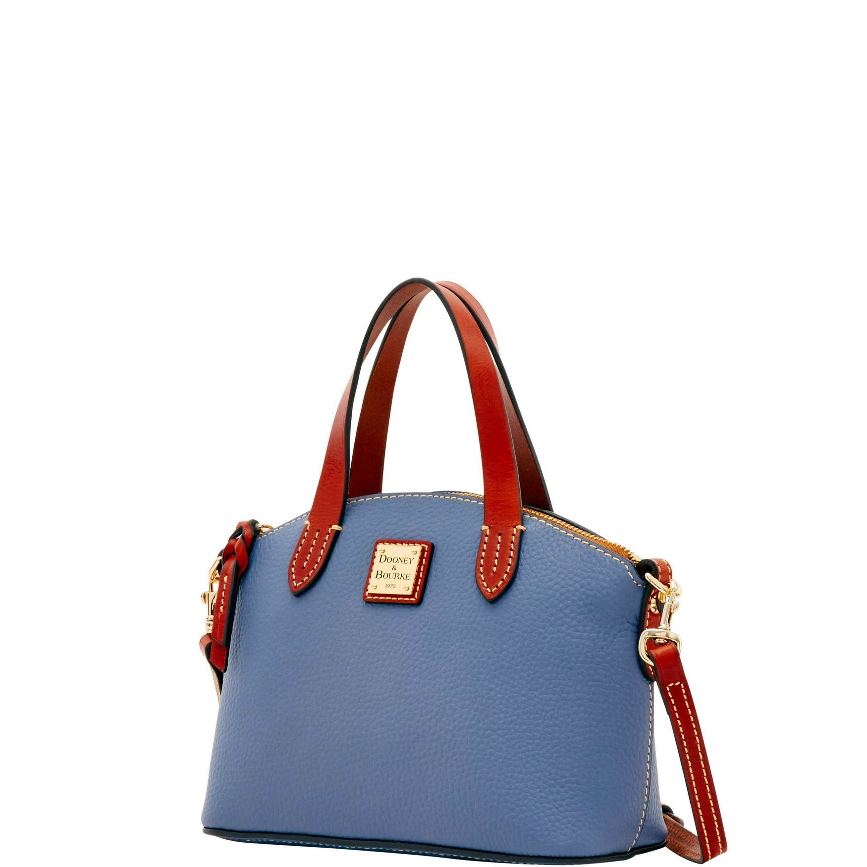 Dooney-amp-Bourke-Pebble-Grain-Ruby-Top-Handle-Bag thumbnail 38