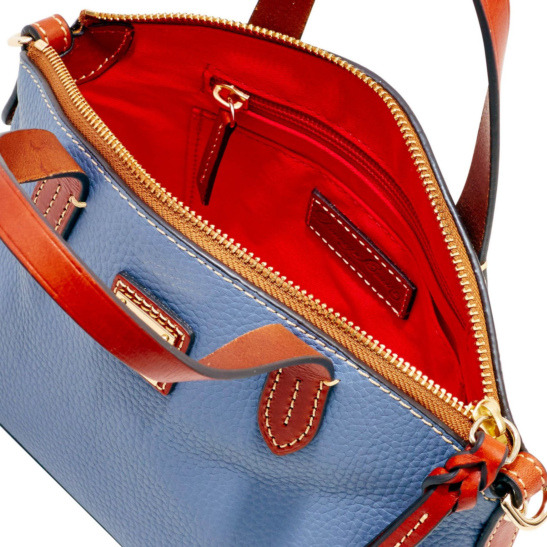 Dooney-amp-Bourke-Pebble-Grain-Ruby-Top-Handle-Bag thumbnail 39