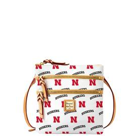 Nebraska Triple Zip Crossbody