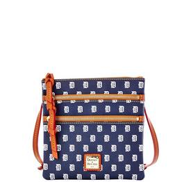 Tigers Triple Zip Crossbody