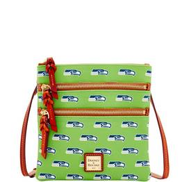 Seahawks Triple Zip Crossbody