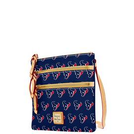 Texans Triple Zip Crossbody