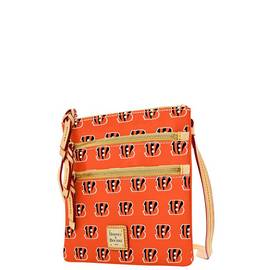 Bengals Triple Zip Crossbody