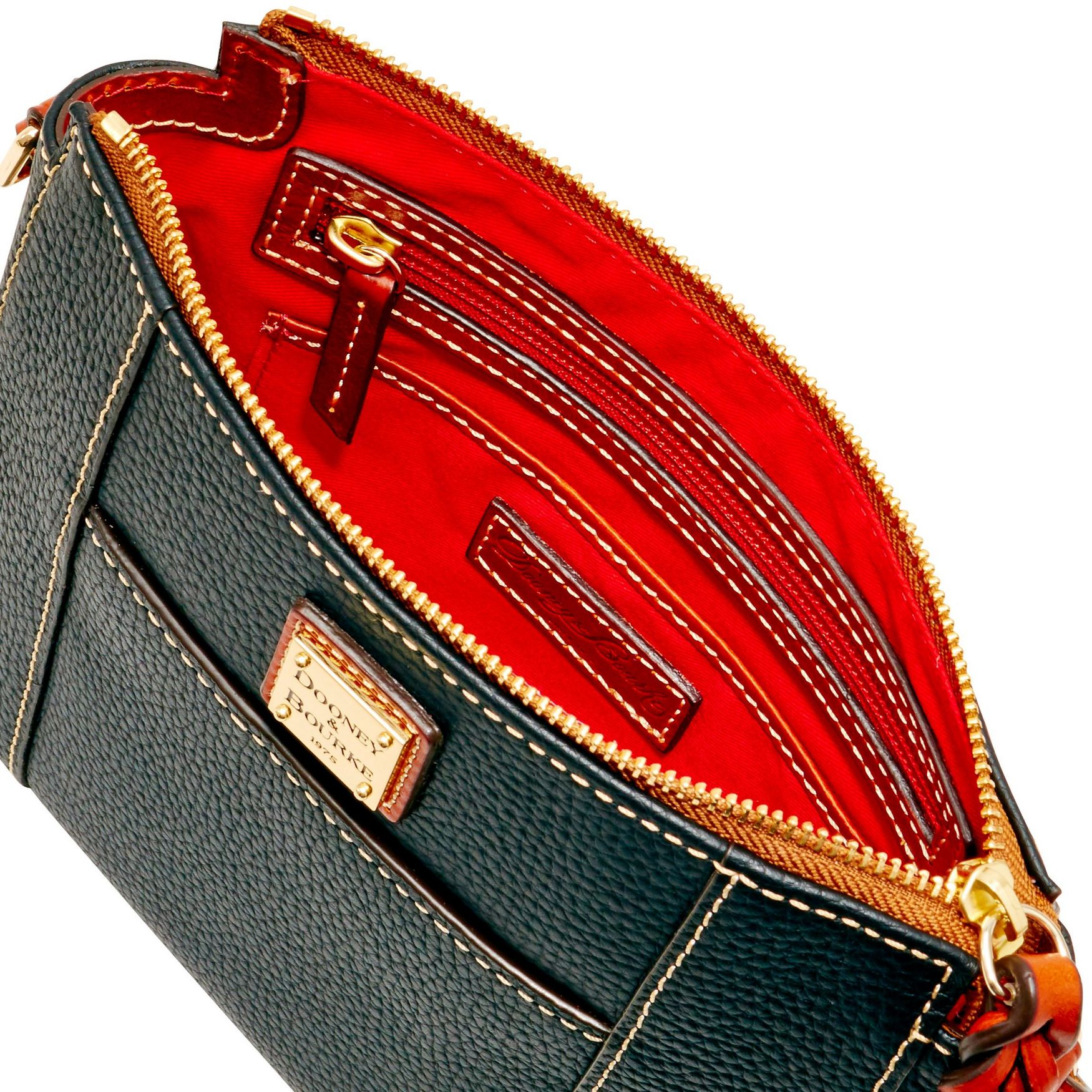 Dooney-amp-Bourke-Pebble-Grain-Lexington-Crossbody-Shoulder-Bag thumbnail 5
