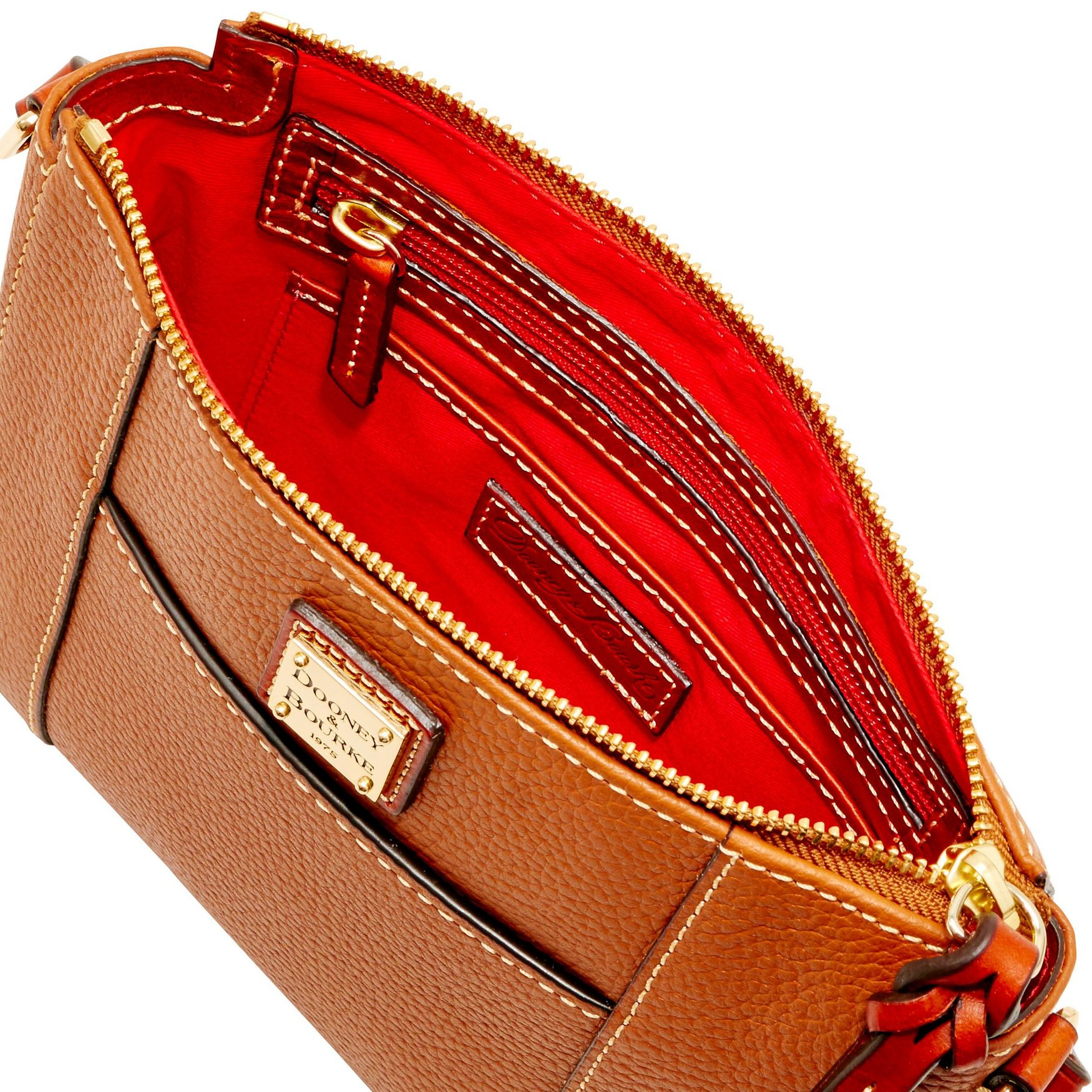 Dooney-amp-Bourke-Pebble-Grain-Lexington-Crossbody-Shoulder-Bag thumbnail 13