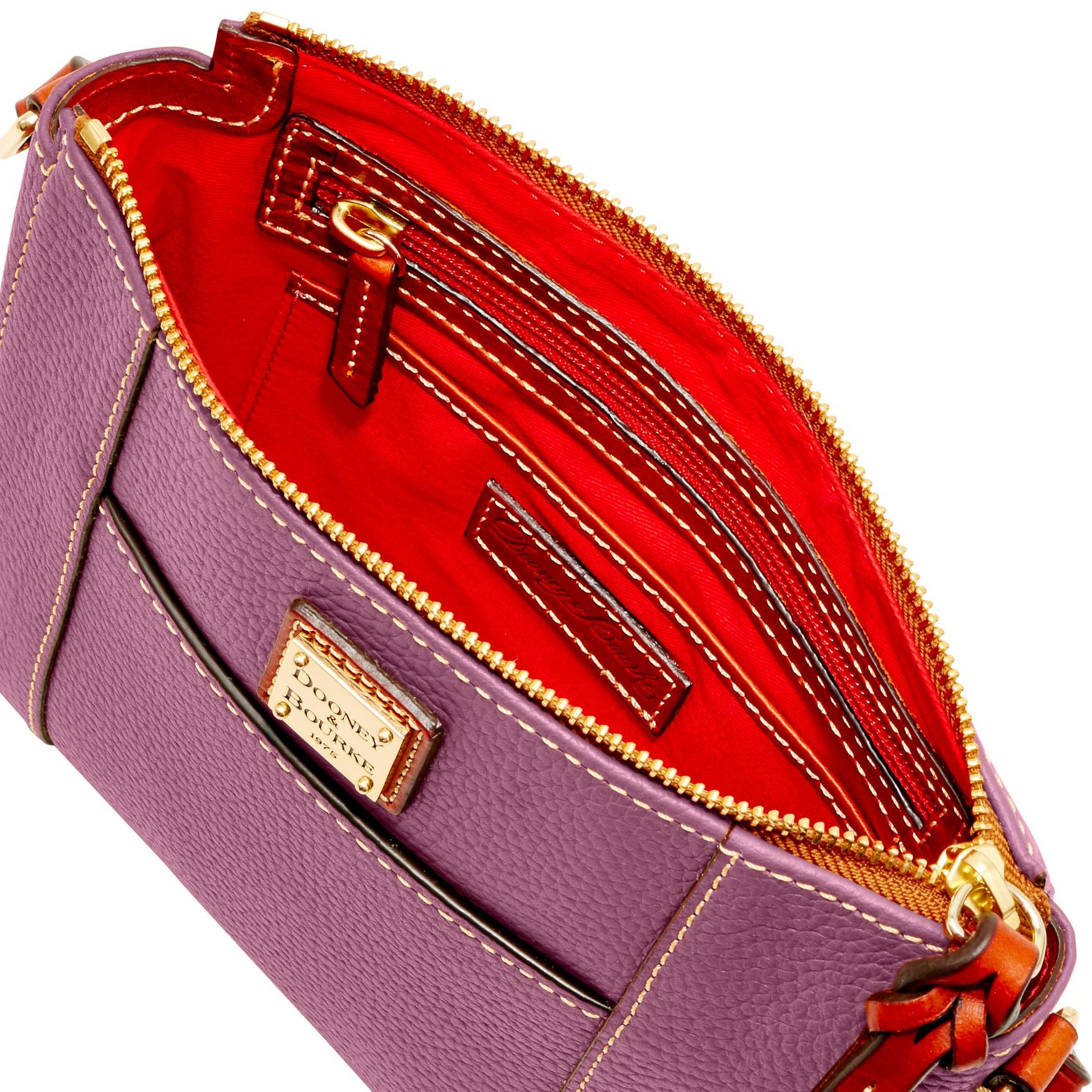 Dooney-amp-Bourke-Pebble-Grain-Lexington-Crossbody-Shoulder-Bag thumbnail 21