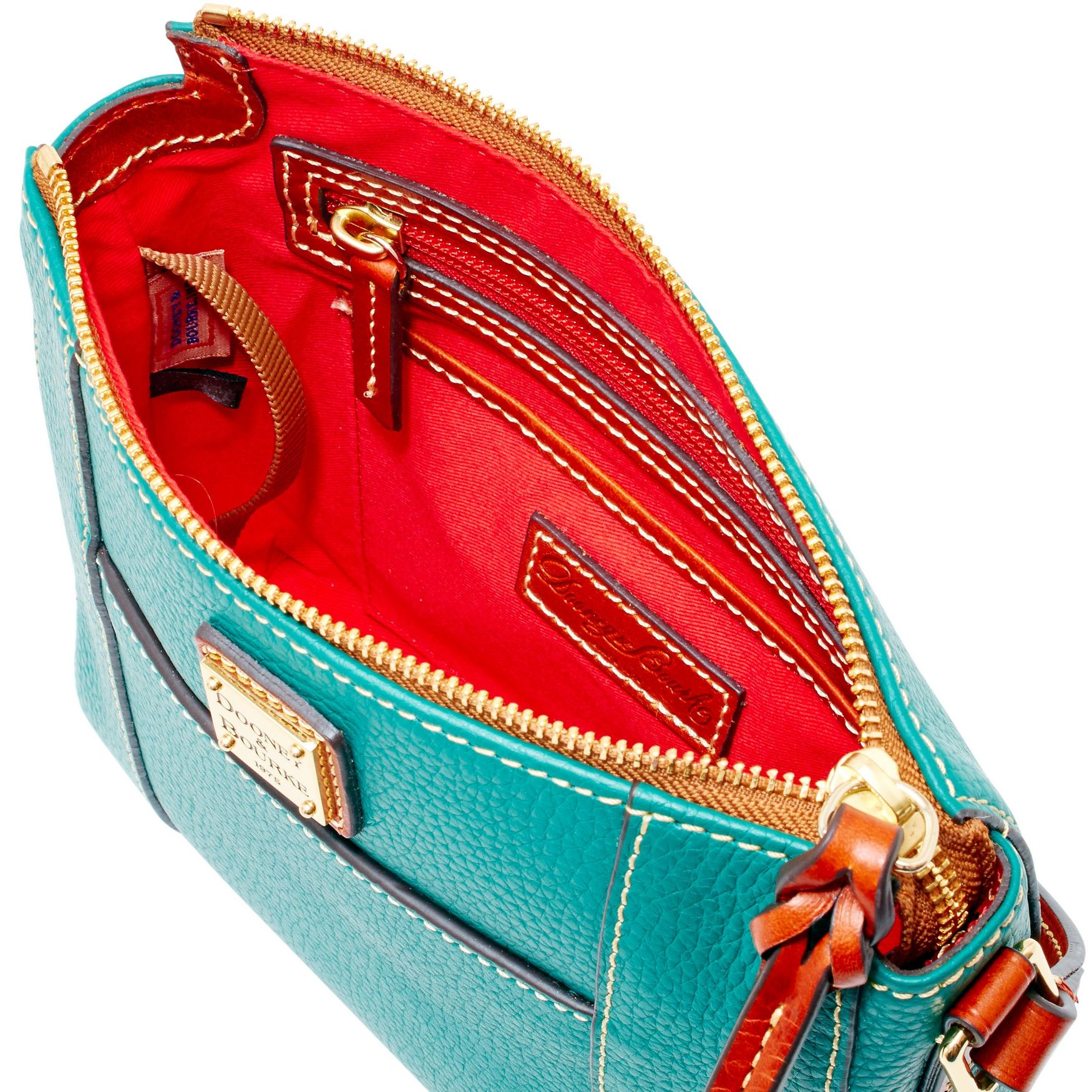 Dooney-amp-Bourke-Pebble-Grain-Lexington-Crossbody-Shoulder-Bag thumbnail 37