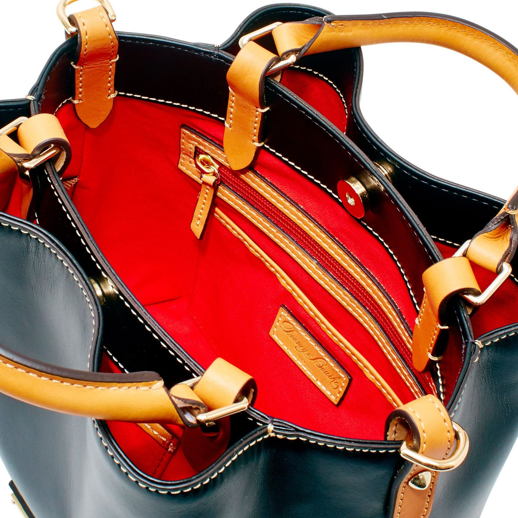 Dooney-amp-Bourke-Wexford-Leather-Small-Brenna thumbnail 10