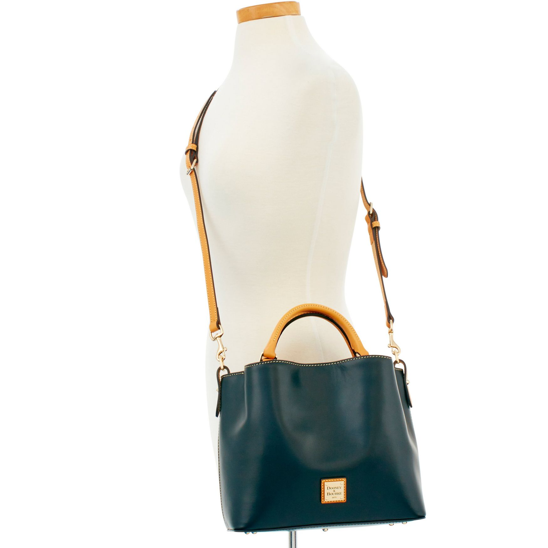Dooney-amp-Bourke-Wexford-Leather-Small-Brenna thumbnail 11