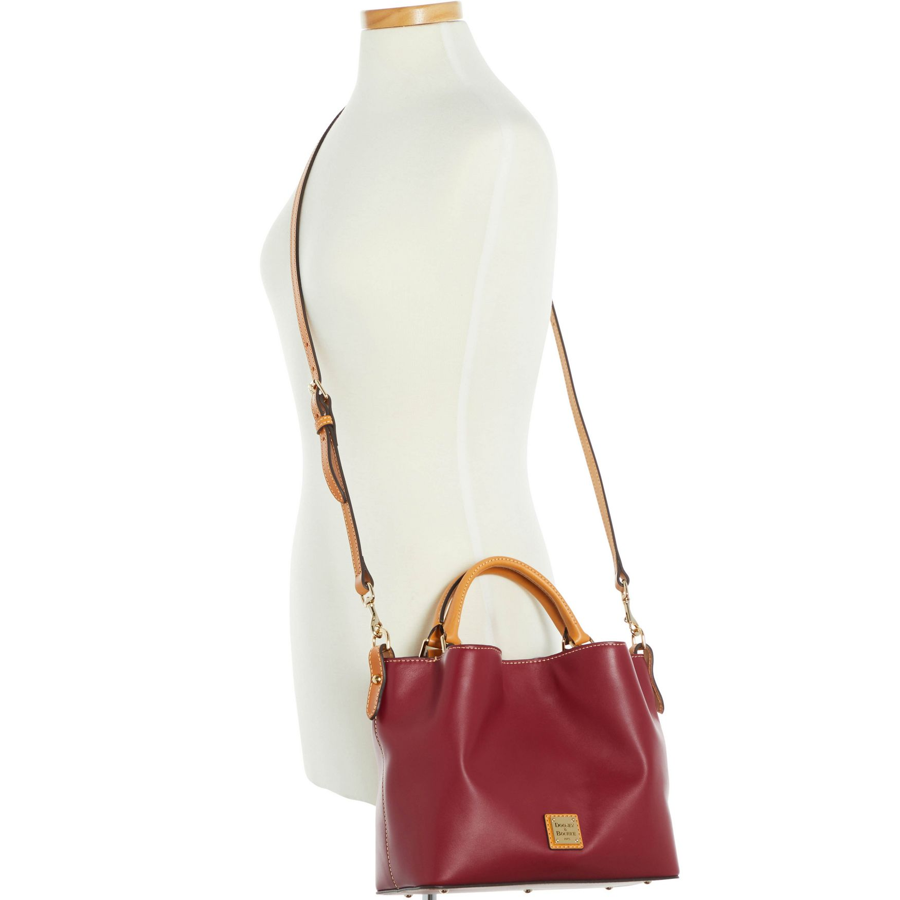 Dooney-amp-Bourke-Wexford-Leather-Small-Brenna thumbnail 39
