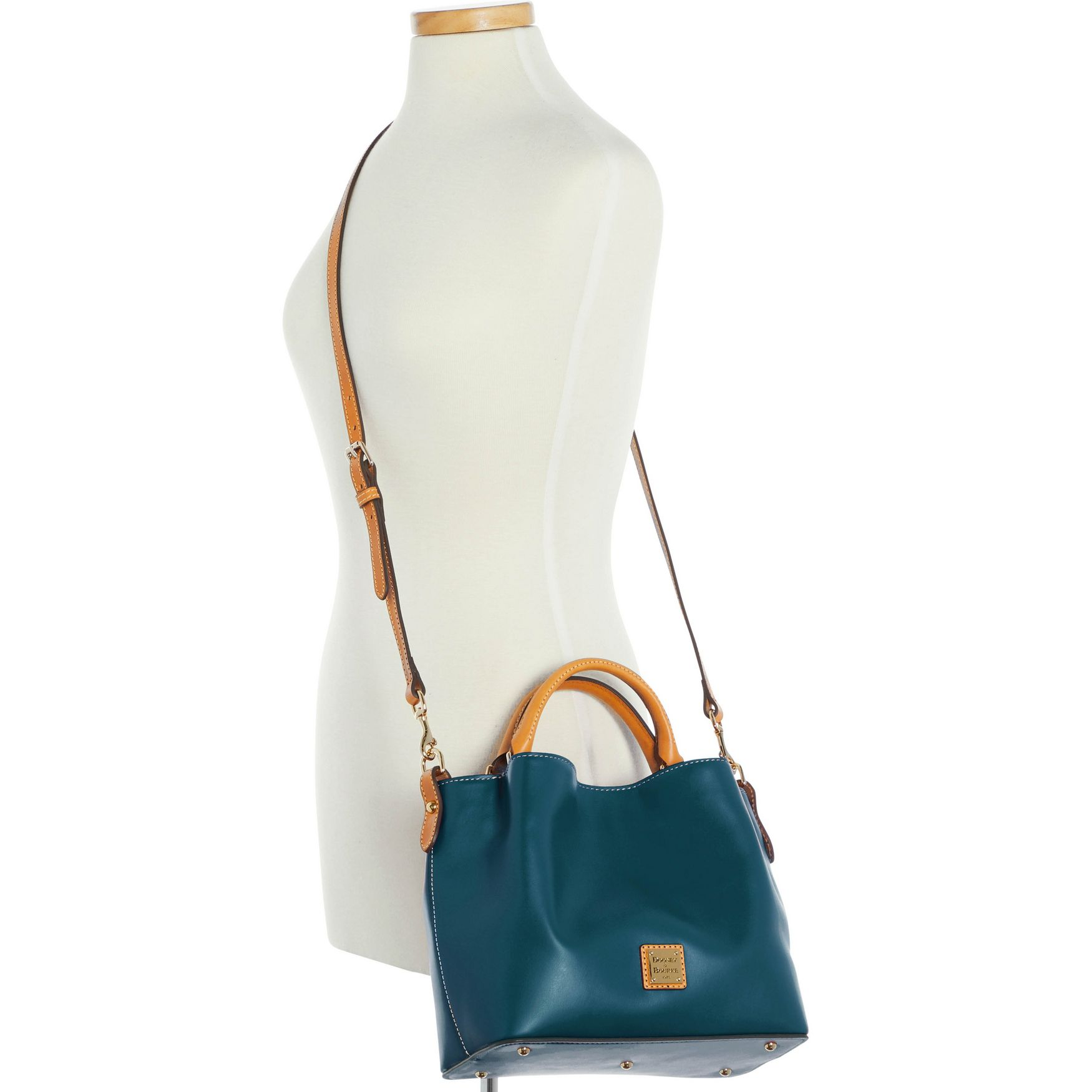 Dooney-amp-Bourke-Wexford-Leather-Small-Brenna thumbnail 32