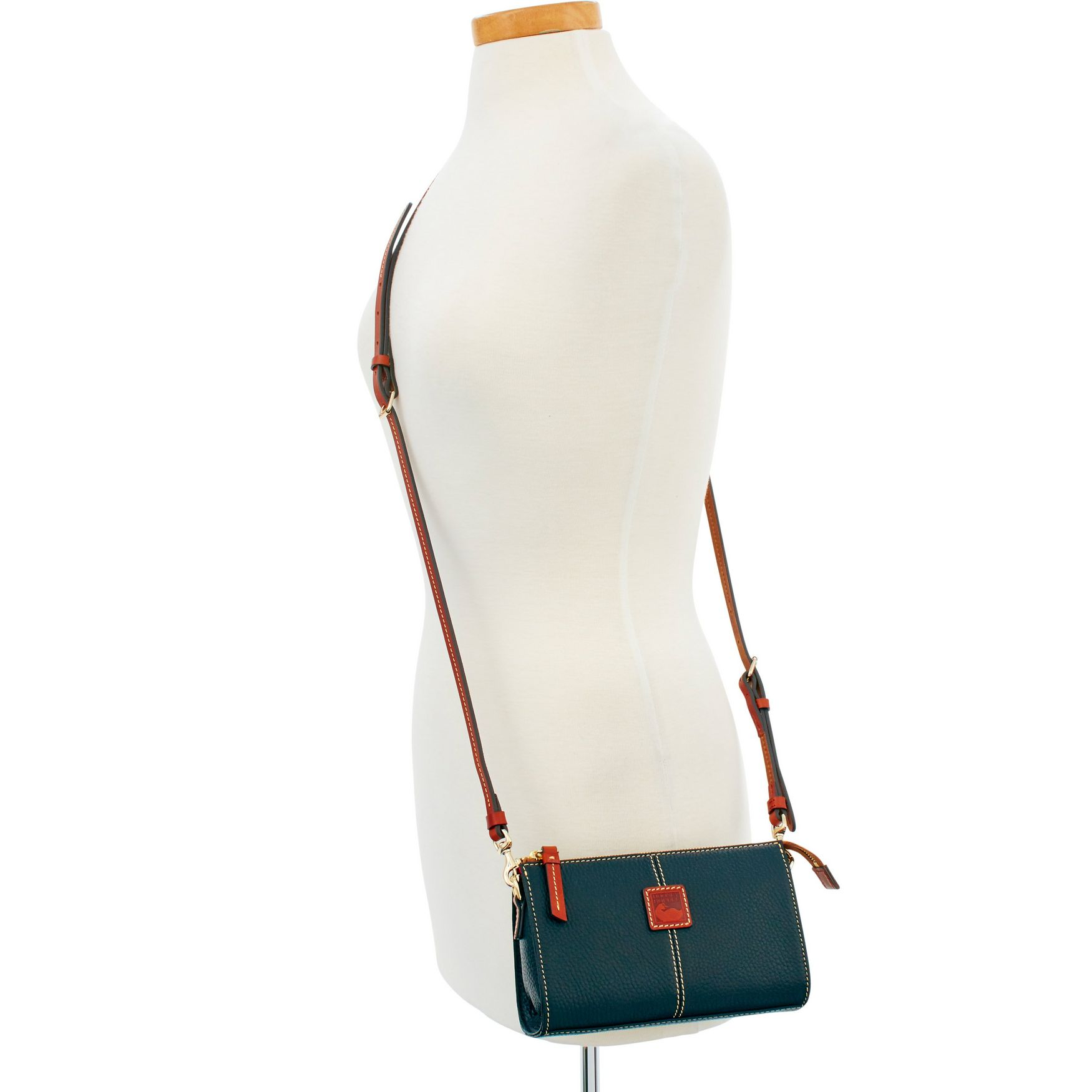 Dooney-amp-Bourke-Pebble-Grain-Small-Janine-Crossbody-Shoulder-Bag thumbnail 6