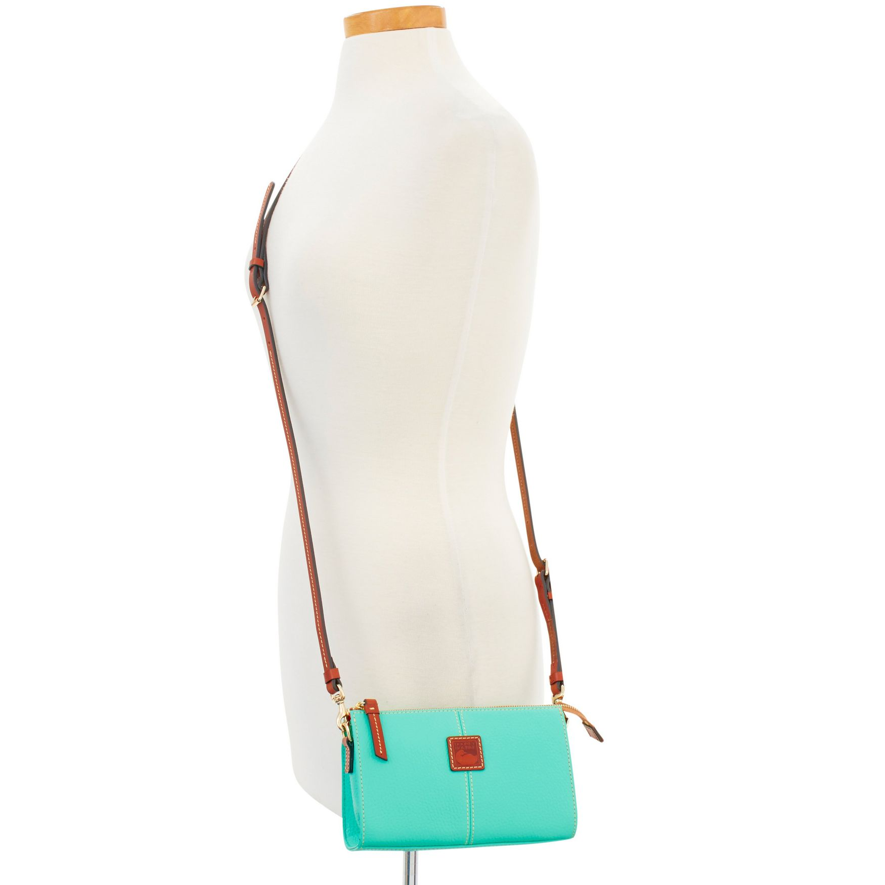 Dooney-amp-Bourke-Pebble-Grain-Small-Janine-Crossbody-Shoulder-Bag thumbnail 30