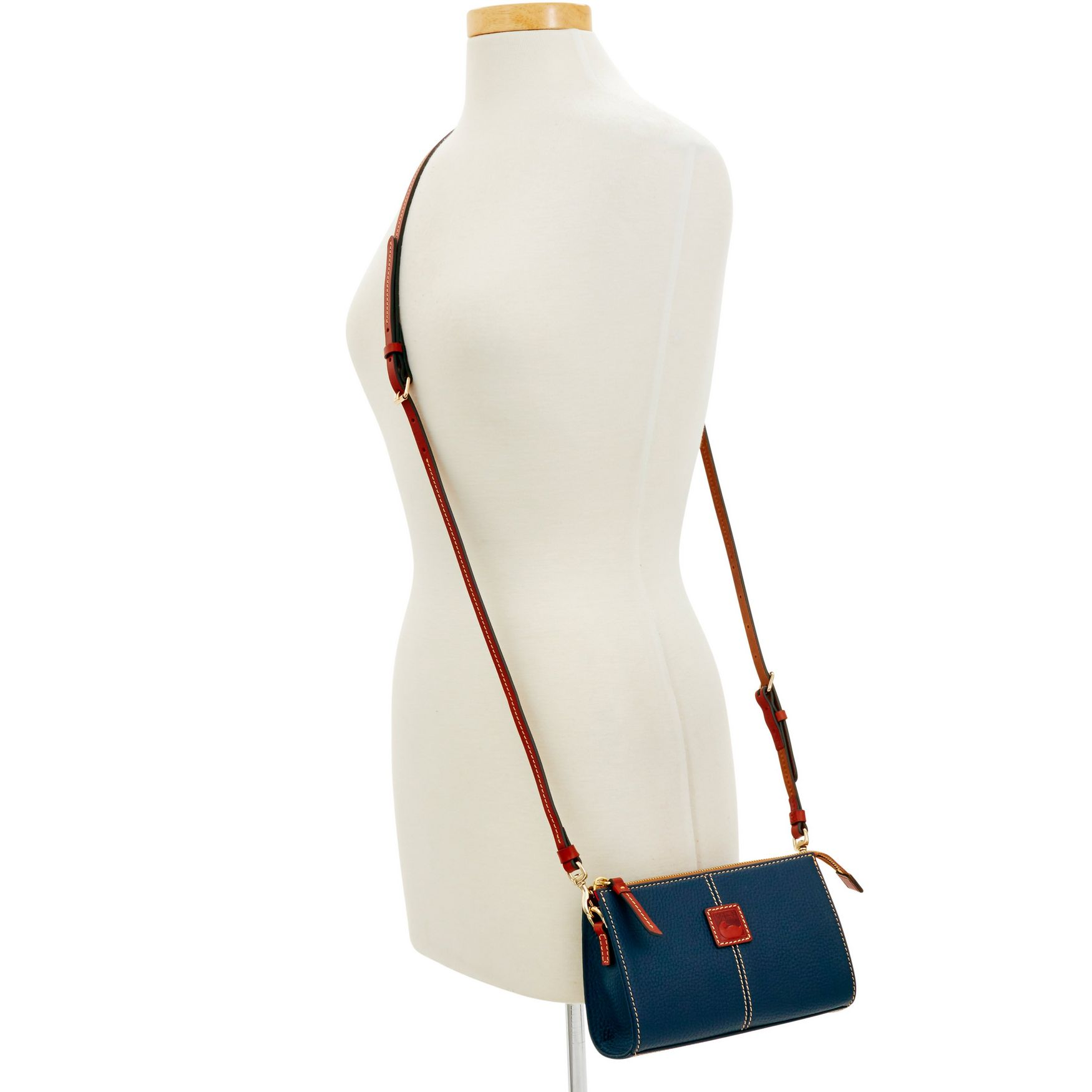 Dooney-amp-Bourke-Pebble-Grain-Small-Janine-Crossbody-Shoulder-Bag thumbnail 34