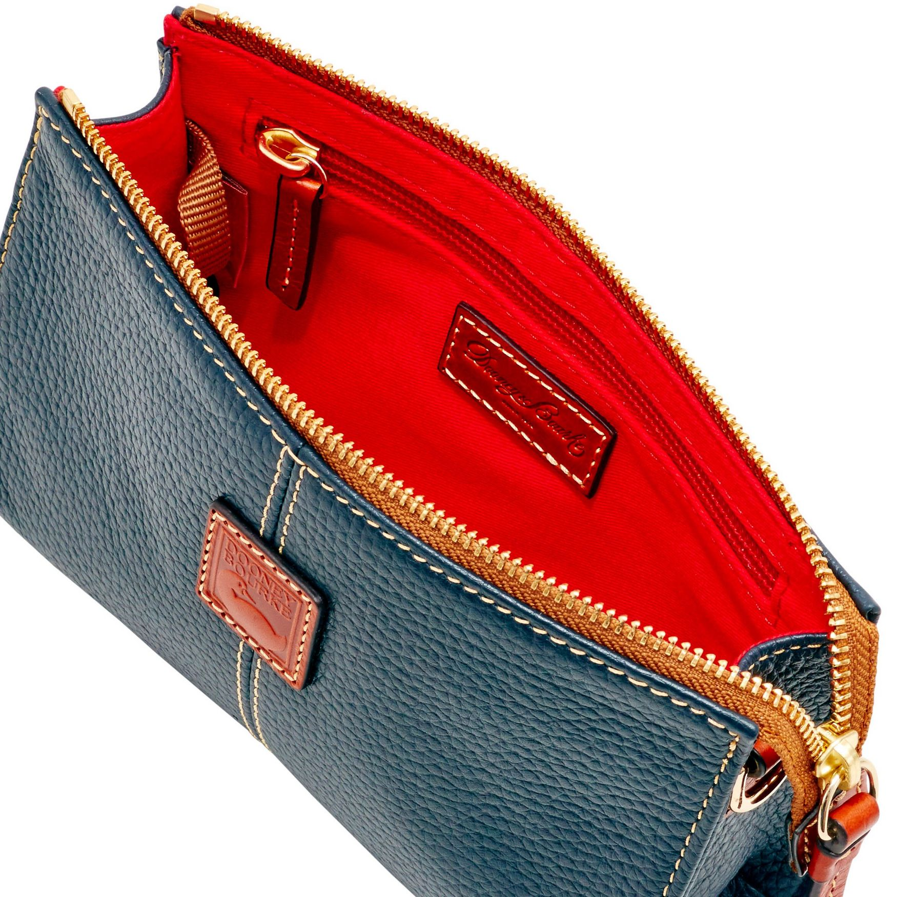 Dooney-amp-Bourke-Pebble-Grain-Small-Janine-Crossbody-Shoulder-Bag thumbnail 37