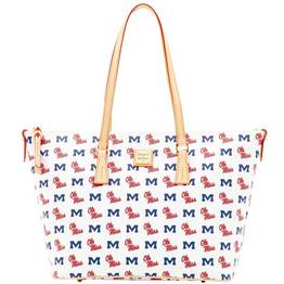 Ole Miss Zip Top Shopper