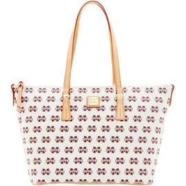 Mississippi State Zip Top Shopper