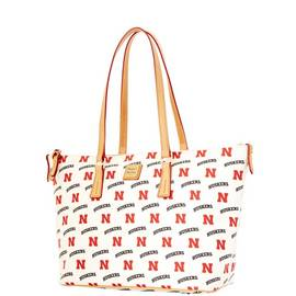 Nebraska Zip Top Shopper