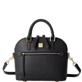 Small Domed Zip Satchel