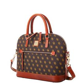 Domed Zip Satchel