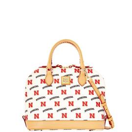 Nebraska Zip Zip Satchel