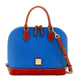 Dooney & Bourke Pebble Grain Zip Zip Satchel (4 colors)