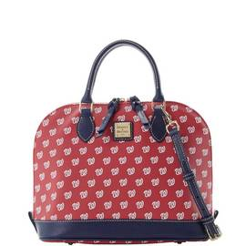 Nationals Zip Zip Satchel