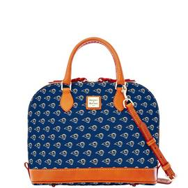 Rams Zip Zip Satchel