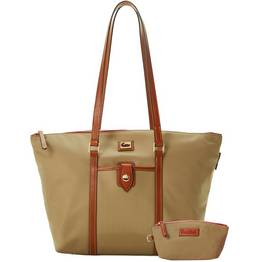 Large Zip Tote with Key Fob