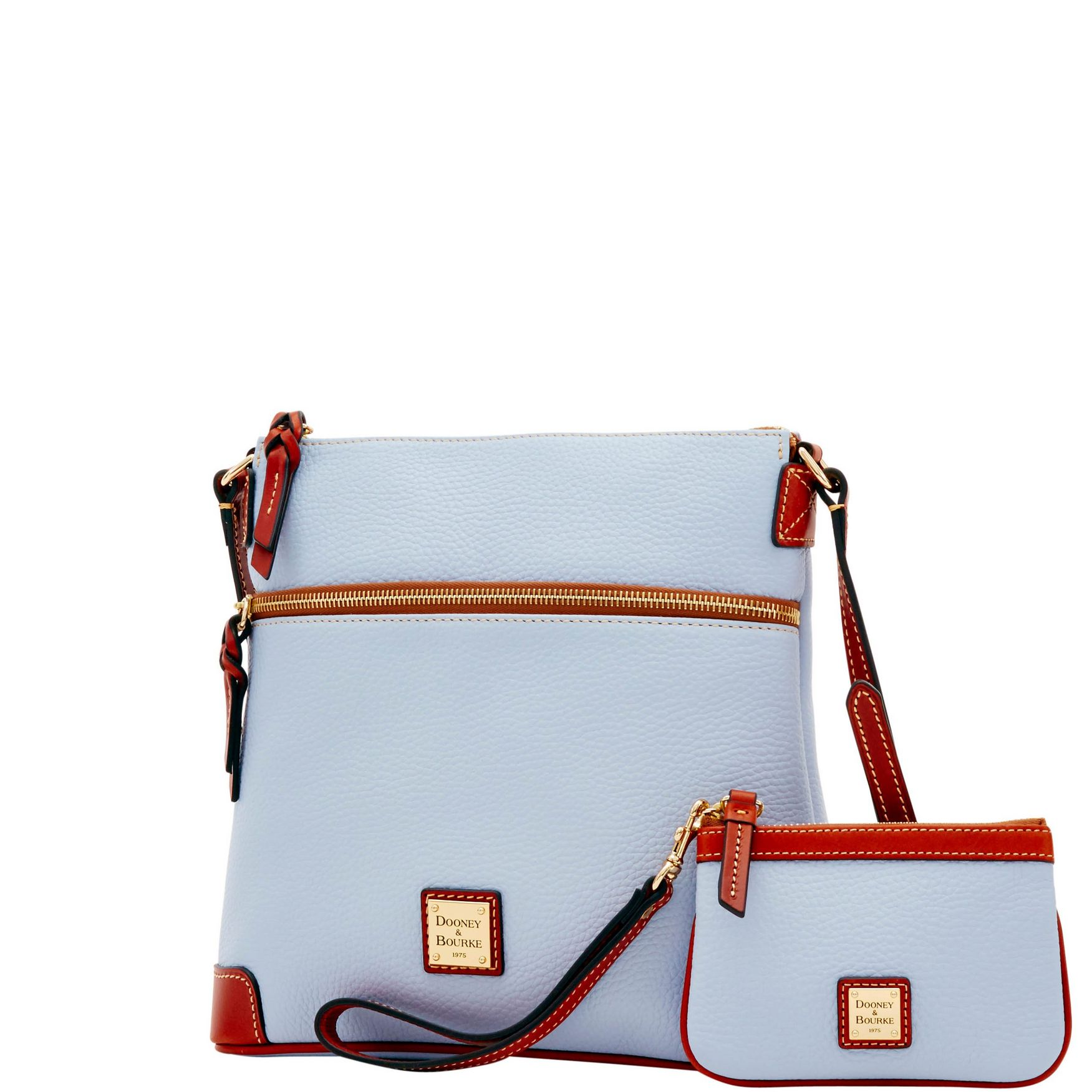 Dooney-amp-Bourke-Pebble-Grain-Crossbody-Medium-Wristlet-Shoulder-Bag thumbnail 20