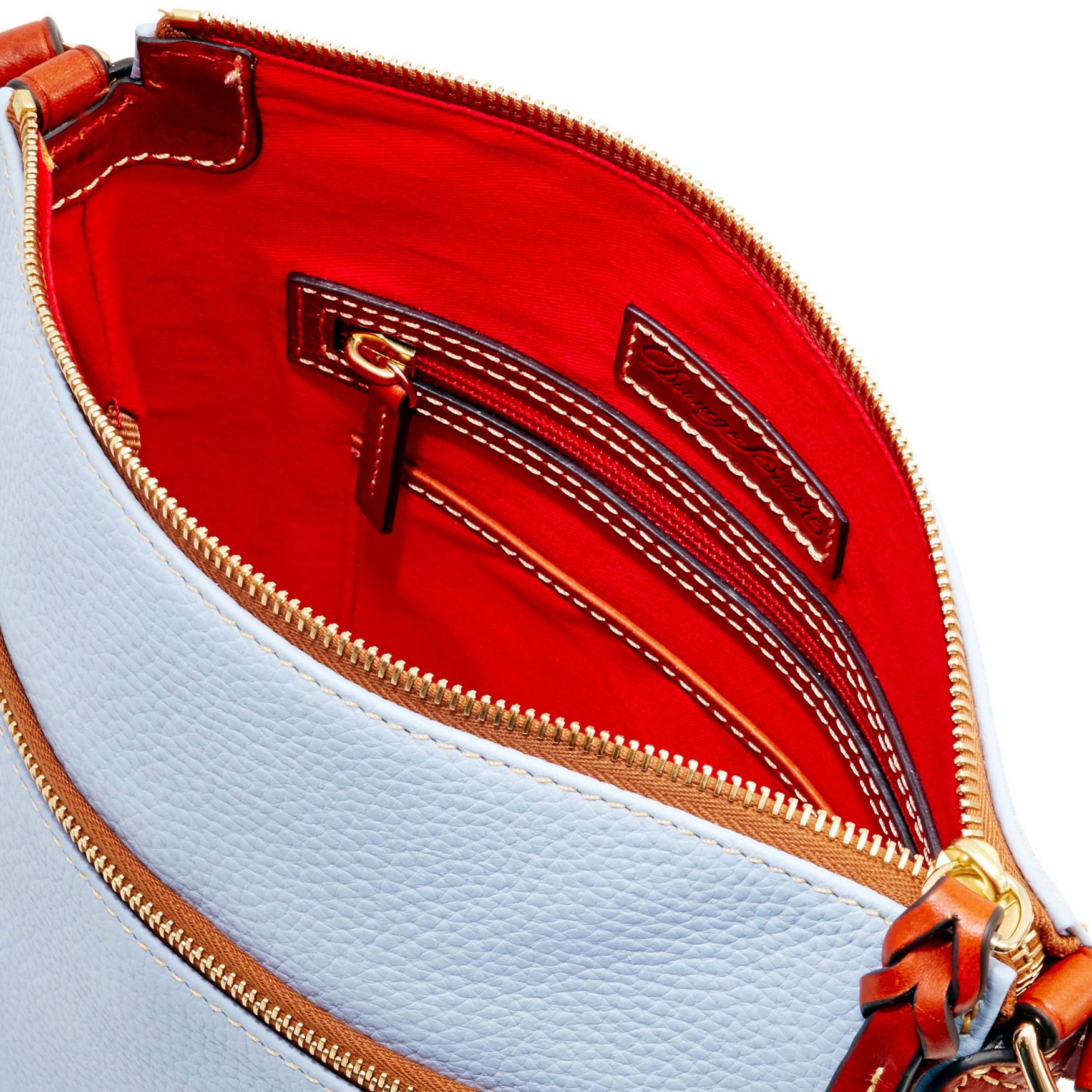 Dooney-amp-Bourke-Pebble-Grain-Crossbody-Medium-Wristlet-Shoulder-Bag thumbnail 21