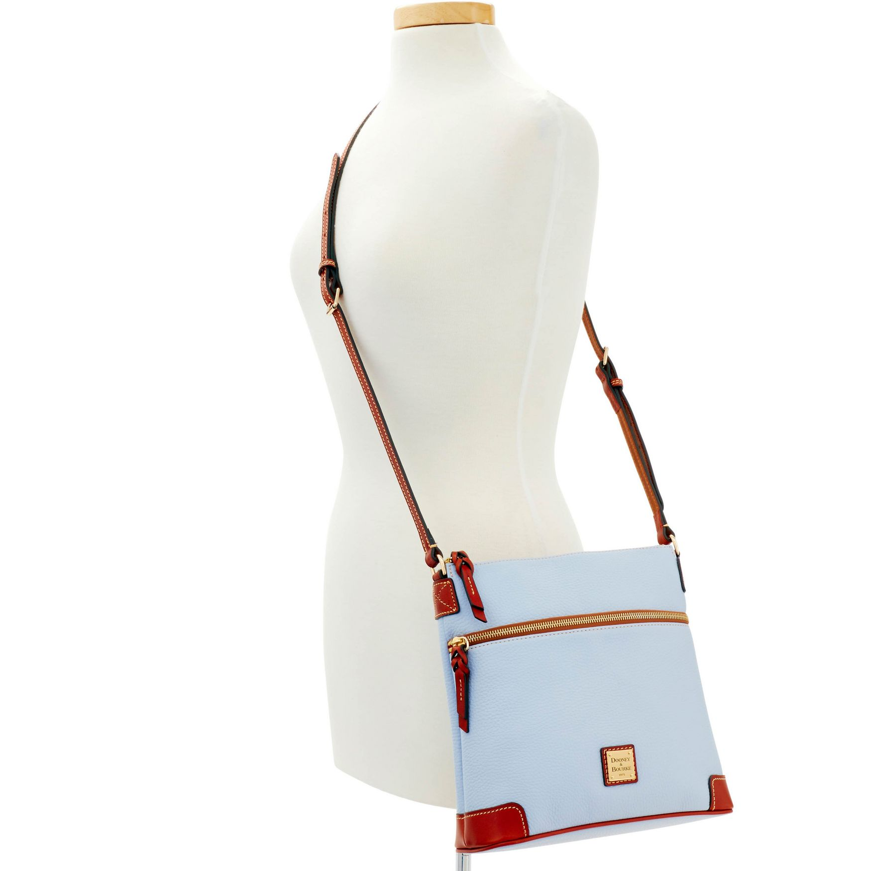 Dooney-amp-Bourke-Pebble-Grain-Crossbody-Medium-Wristlet-Shoulder-Bag thumbnail 22