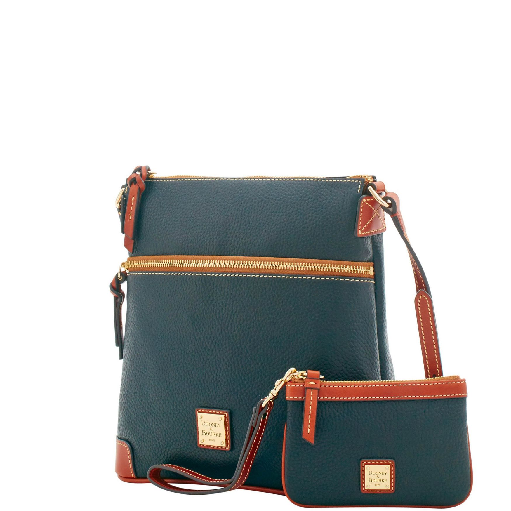 Dooney-amp-Bourke-Pebble-Grain-Crossbody-Medium-Wristlet-Shoulder-Bag thumbnail 8