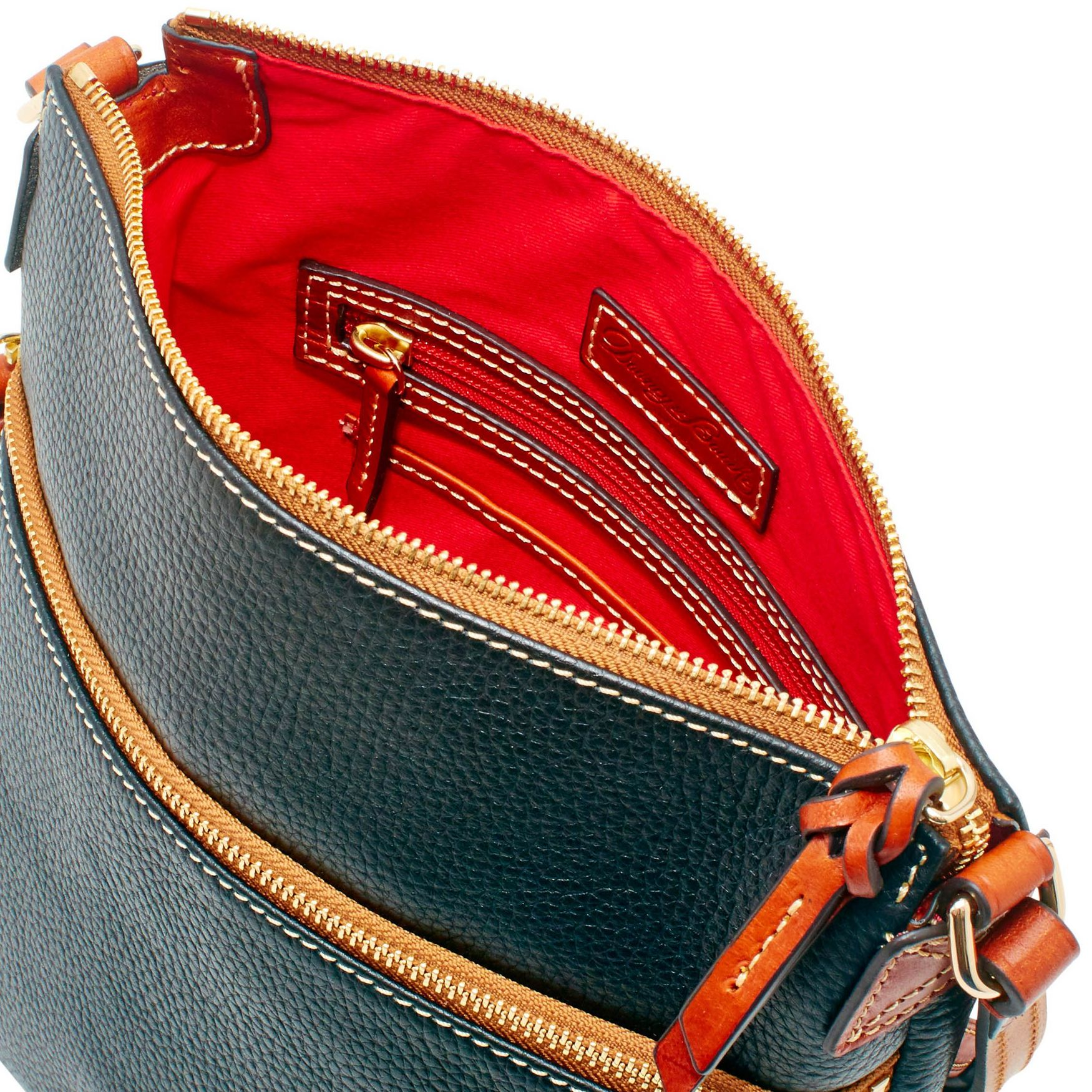 Dooney-amp-Bourke-Pebble-Grain-Crossbody-Medium-Wristlet-Shoulder-Bag thumbnail 9
