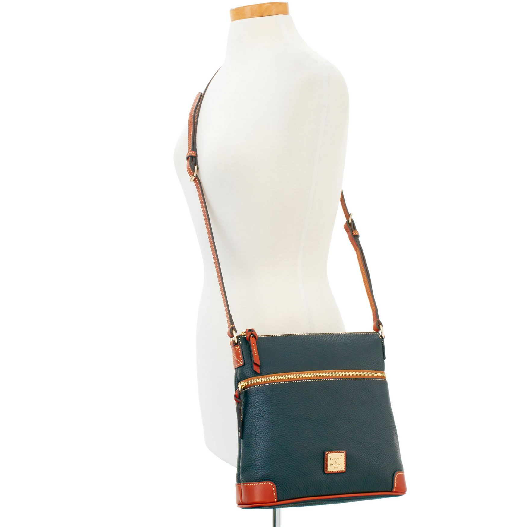 Dooney-amp-Bourke-Pebble-Grain-Crossbody-Medium-Wristlet-Shoulder-Bag thumbnail 10