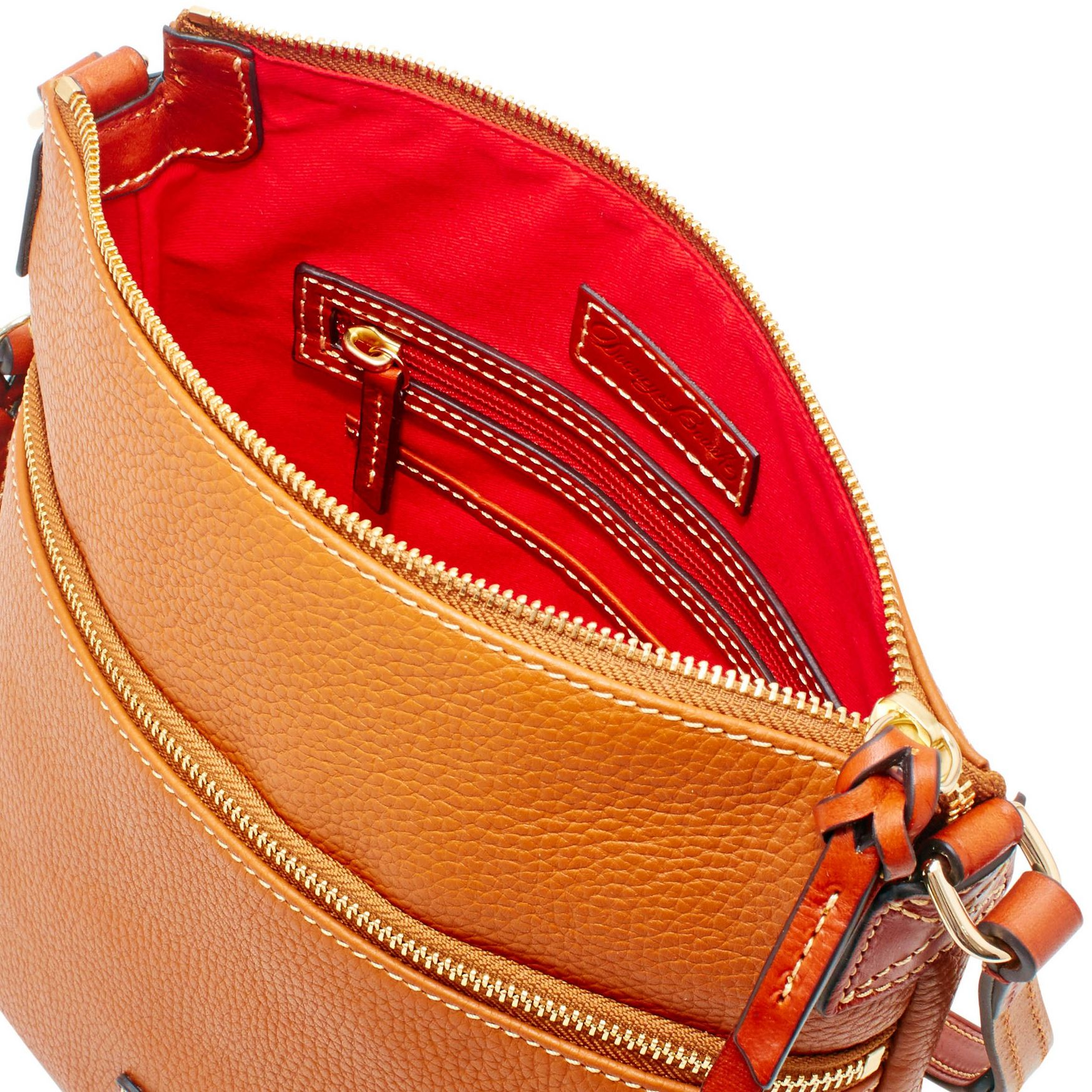 Dooney-amp-Bourke-Pebble-Grain-Crossbody-Medium-Wristlet-Shoulder-Bag thumbnail 13