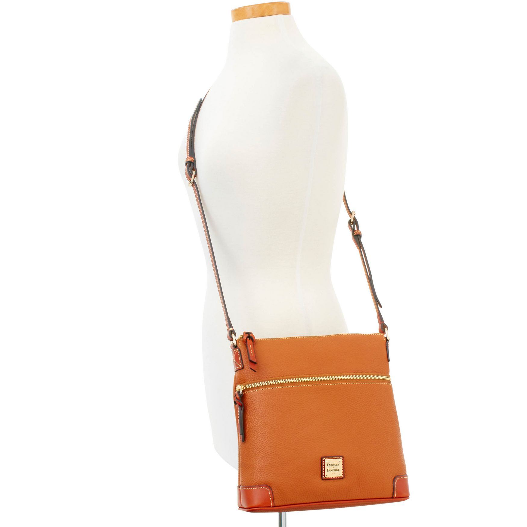 Dooney-amp-Bourke-Pebble-Grain-Crossbody-Medium-Wristlet-Shoulder-Bag thumbnail 14