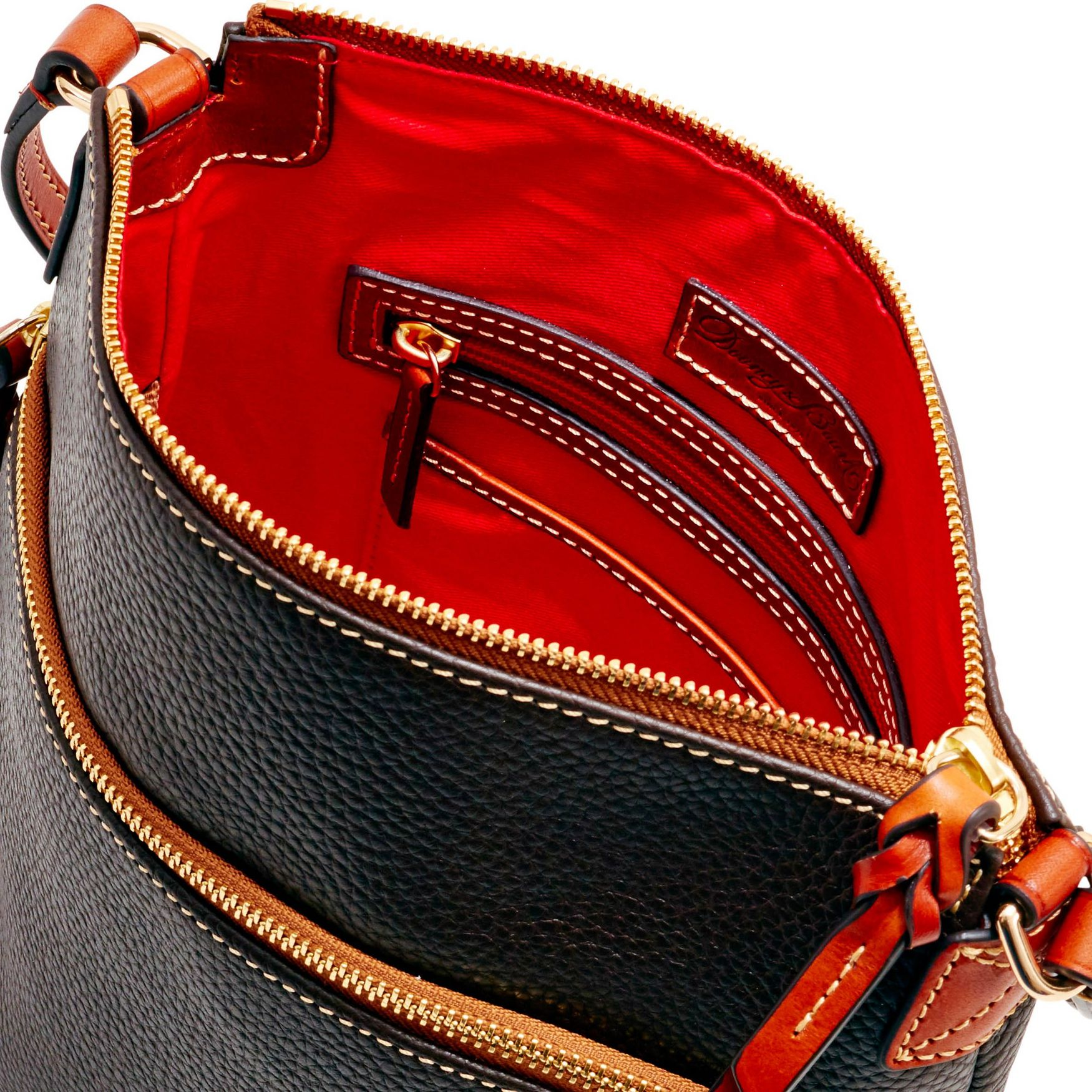 Dooney-amp-Bourke-Pebble-Grain-Crossbody-Medium-Wristlet-Shoulder-Bag thumbnail 17
