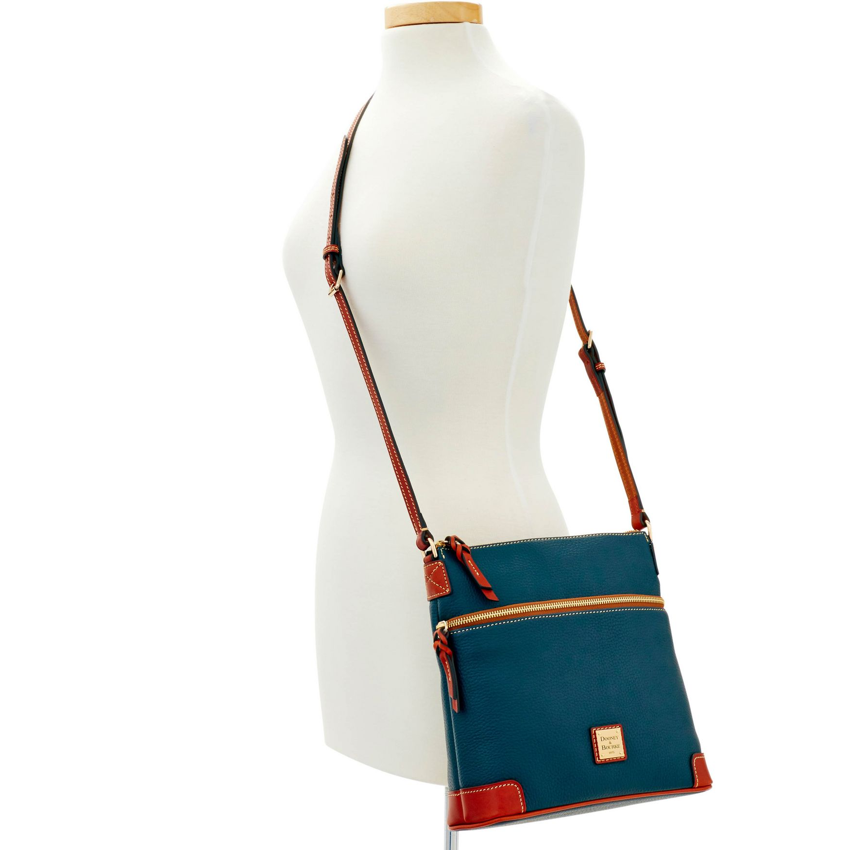 Dooney-amp-Bourke-Pebble-Grain-Crossbody-Medium-Wristlet-Shoulder-Bag thumbnail 26