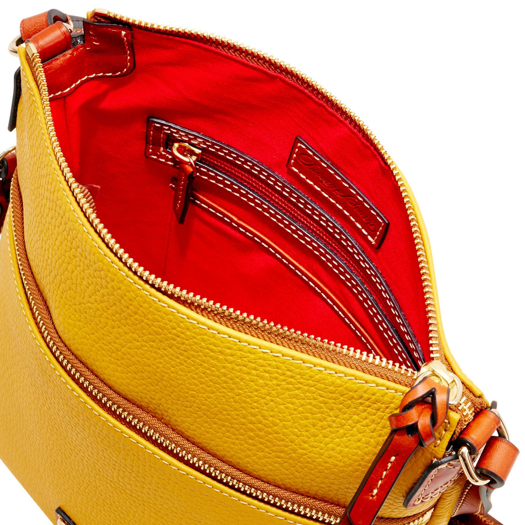 Dooney-amp-Bourke-Pebble-Grain-Crossbody-Medium-Wristlet-Shoulder-Bag thumbnail 29