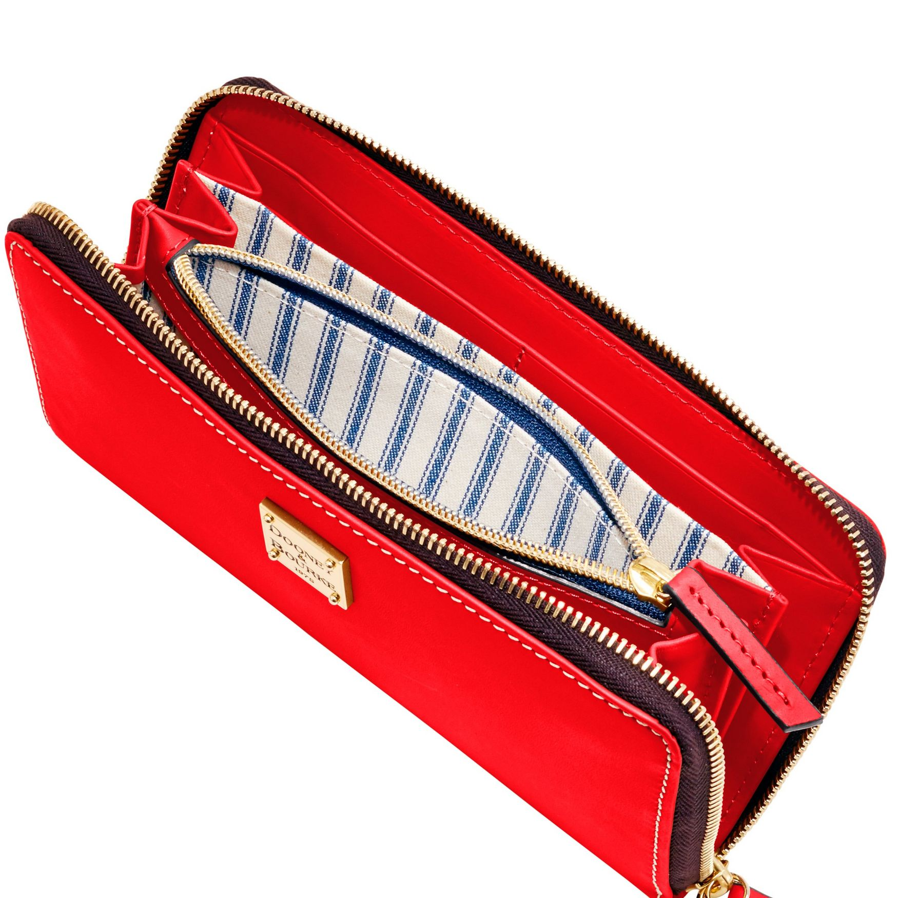 Dooney-amp-Bourke-Beacon-Large-Zip-Around-Wristlet-Wallet thumbnail 32