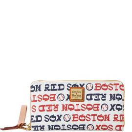 Red Sox Zip Around Wristlet